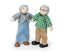 Besteforeldre, dukker til dukkehus - Le Toy Van
