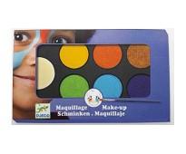 Ansiktsmaling med 6 farger - Djeco