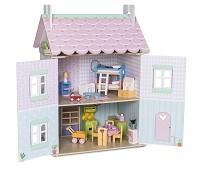 Dukkehus i tre med møbler, Sweetheart - Le Toy Van