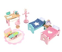 Barnerommet, dukkehusmøbler - Le Toy Van