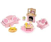 Stuen, dukkehusmøbler i tre - Le Toy Van