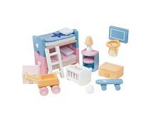 Barnerom, dukkehusmøbler - Le Toy Van