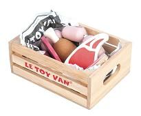 Trekasse med kjøtt, lekemat - Le Toy Van