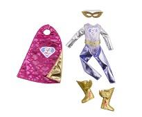Superheltdrakt, dukkeklær - Lottie