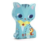 Katter, puslespill 24 biter - Djeco