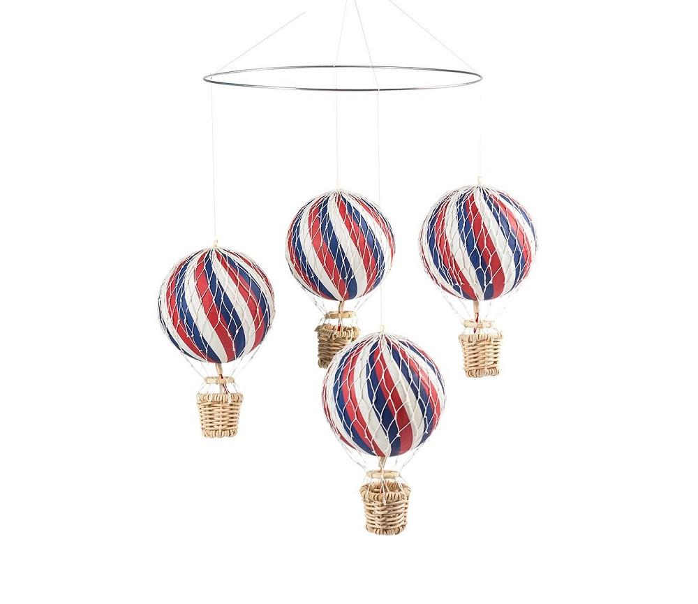 Uro Med Blå Rød Og Hvite Luftballonger Filibabba Sprell Veldig