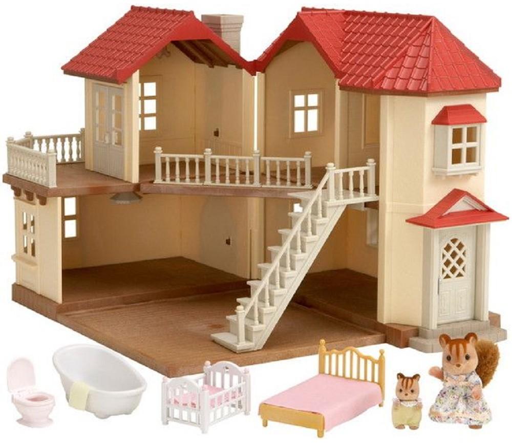 Hus med lamper og tilbehør - Sylvanian Families | Sprell - veldig fine leker og barneromsinteriør
