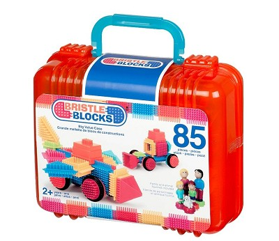 Nopper i koffert, 85 klosser - Bristle Blocks