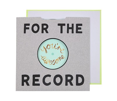 For the record - kort fra Meri Meri