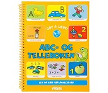 Abc- og telleboken - Aktivitetsbok
