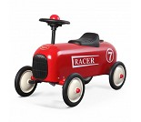 Rød sittebil, racer - Baghera