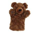 Bjørn - hånddukke, 28 cm