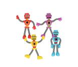 Robot, bøyelige figurer, 4 valg