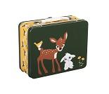 Koffertmatboks med rådyr og kanin - Blafre