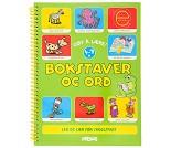 Bokstaver og ord - Aktivitetsbok
