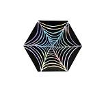 Spindelvev, papptallerkener 8 stk - Meri Meri