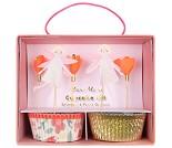 Cupcake kit, feer og blomster, 24 stk - Meri Meri