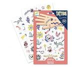 Selvlysende tatoveringer med dyr fra Djeco