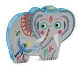Elefant, puslespill 24 biter - Djeco