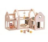 Dukkehus i tre - PlanToys