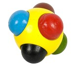 Ball med fargestifter
