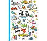 Kjøretøy, fargeleggingsbok