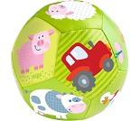 Grønn myk ball med bondegårdsdyr til baby - HABA