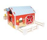 Rød bondegård i tre - Le Toy Van