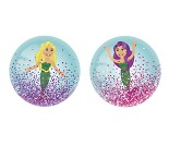 Ball med havfrue og glitter