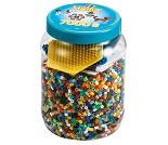 Midi perler i blå boks, 7000 perler - Hama