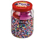 Midi perler i rosa boks, 7000 perler - Hama