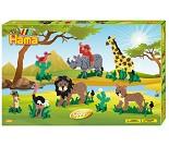 Safari, perlesett 5000 perler - Hama