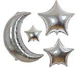 Ballonger, 5 stjerner og 1 måne - Meri Meri