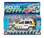Norsk politibil med lys og lyd