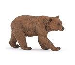 Brunbjørn - Miniaturfigur fra PAPO