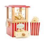 Popcornmaskin, lekemat i tre - Le Toy Van