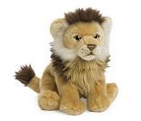 Sittende løve, kosedyr 23 cm - WWF