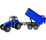 Traktor med slep, 54 cm - 2 fargevalg