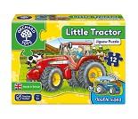 Traktor, tosidig puslespill