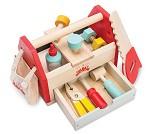 Verktøykasse og verktøy i tre - Le Toy Van