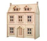 Viktoriansk dukkehus i tre