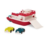 Bilferge, stor lekebil i plast