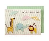 Kort til babyshower - Meri Meri