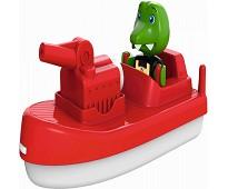 Brannbåt med krododille - Aquaplay