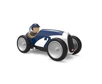 Mørkeblå lekebil i metall - Baghera