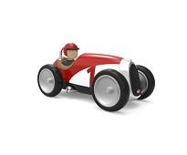 Rød lekebil i metall - Baghera