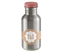 Drikkeflaske i stål med rosa kork, 500ml - Blafre