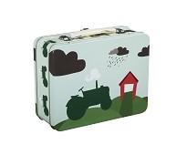 Koffertmatboks med traktor - Blafre