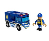 Politibil og politimann - BRIO