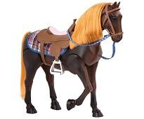 Brun hest, dukketilbehør - Our Generation